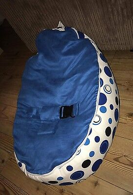 Blue Circle Baby boys Bean Bag comfy newborn baby chair sleep
