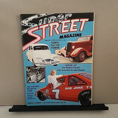 Super street magazine issue no.2 collectors . 1987.hot rods. Street cars