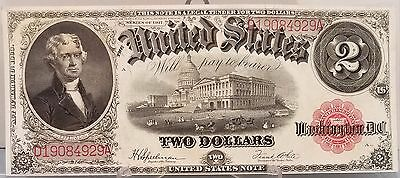 1917 U.S. $2.00 United States Note, Red Seal
