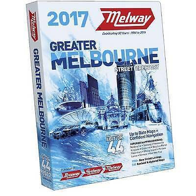 Melway Melbourne 2017 Street Directory