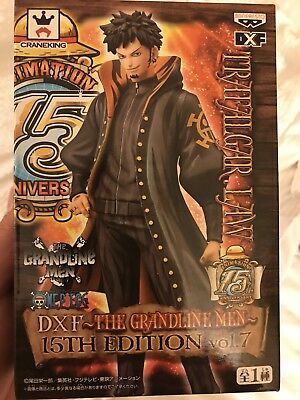 One piece Figure TRAFALGAR LAW DXF Grandline Men 15th ver. Vol.5 Banpresto NEW