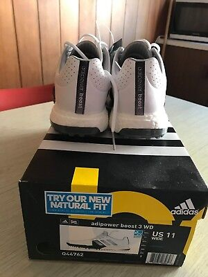Adidas Adipower Boost 3 Gold Shoes Size US11 Wide