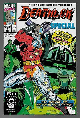 Deathlok Special Limited Series #1 (May, 1991) Jackson Guice Cover NM 9.4