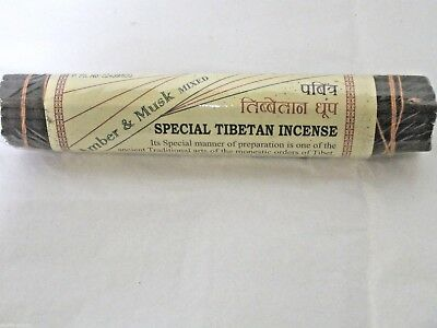 Special Tibetan Incense Sticks - Amber and Musk - Nepal