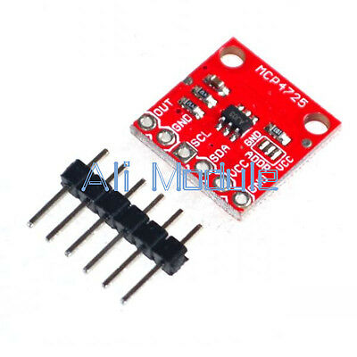 2Pcs MCP4725 I2C DAC Breakout Development Board module 12Bit Resolution Good