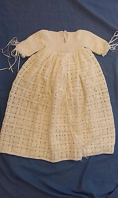 New Hand Crotheted Pure Wool Baby Dress