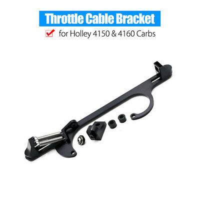Holley 4150 4160 Throttle Cable Carb Bracket Carburetor Billet Aluminum Useful