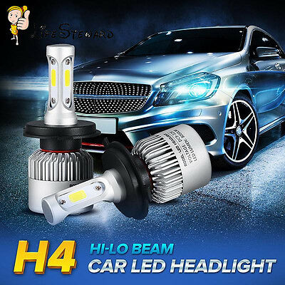 1Pair OSLAMP CSP H4 HB2 9003 36W 64800LM LED Headlight Kit Hi/Lo Bulbs 6000K