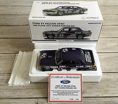 Biante 1:18 Ford XY Falcon GT-HO Barnes Skelton 2nd place 1971 Bathurst, MIB