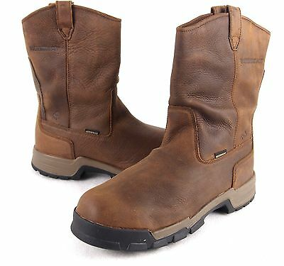 e761146f90da Wolverine W10152 Men Gear Waterproof EH Pull On ICS Composite Toe Safety  Boots