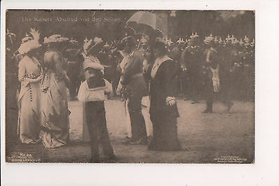 Vintage Postcard Kaiser Wilhelm II, German Emperor & Royal Family