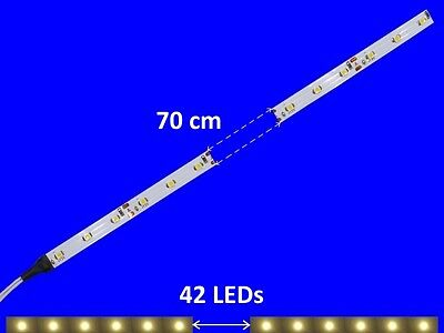 S351 5 Pcs LED Carriage lighting 700mm warm white analogue+digital with cable