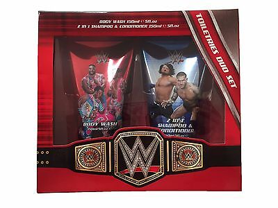 WWE Wrestling Toiletries Body Wash & Shampoo Duo Gift Set