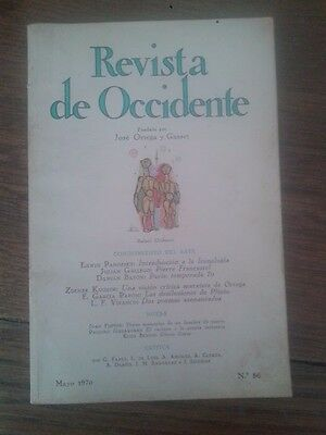 REVISTA DE OCCIDENTE nº 86 (Mayo, 1970)