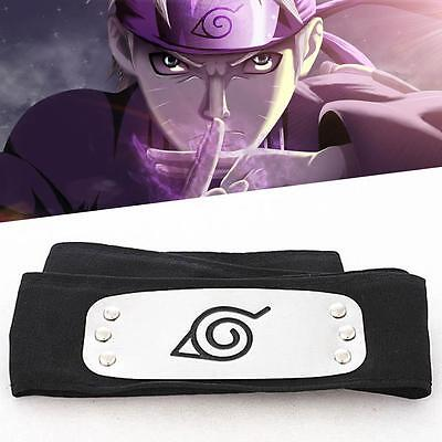 Fashion Headband Leaf Village Logo Kakashi Cosplay Costume Accessory DA
