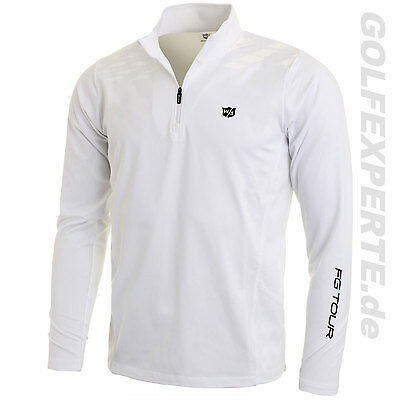 Wilson Staff Golf Herren Longsleeve FG Tour M3 Thermal Tech white