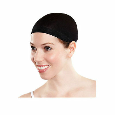 2pcs wig caps deluxe hair stocking good quality black/brown/beige