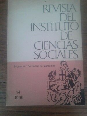 REVISTA DEL INSTITUTO DE CIENCIAS SOCIALES nº 14 (1969)