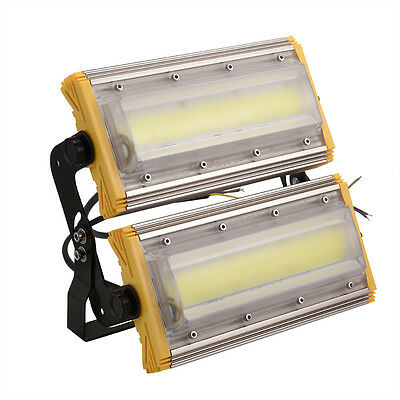 100W COB LED Cool/Warm White Floodlight IP65 Flood Light Outdoor Wash Lamp 220V