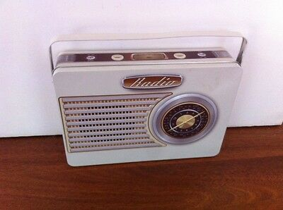 COLLECTABLE Radio Tin