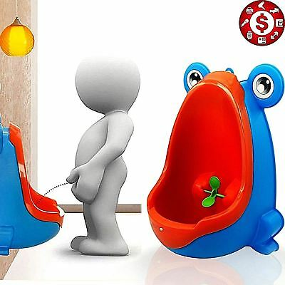 Frog POTTY TRAINING TOILET URINAL with Target for Baby Kids Pee Children Toddler