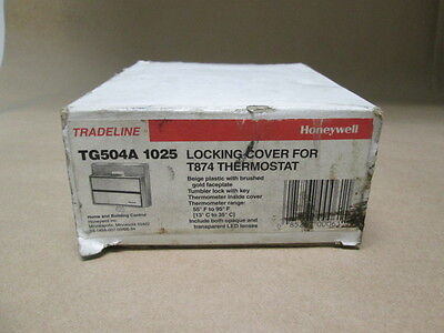 Honeywell Tradeline TG504A1025 Locking Cover for T874 Thermostat