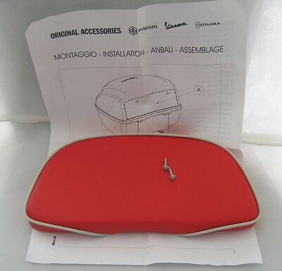 Piaggio Vespa S 50 150 Original Rückenlehne für Top Case Backrest Pad 602882M0R7