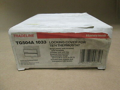 Honeywell Tradeline Locking Cover for T874 Thermostat #TG504A1033