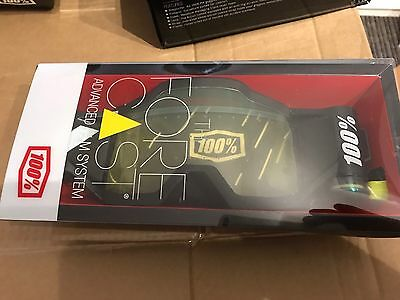 100% Forecast Roll-Off System Motocross Enduro Goggle Roll Off System MX
