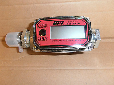 New   GPI electronic digital fuel meter.01A31GM