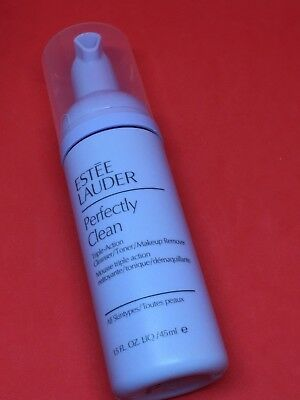 Estee Lauder Perfectly Clean Triple Action cleanser toner makeup remover 45ml