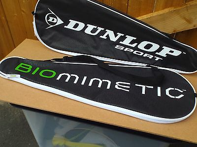 Dunlop Biomimetic Squash Racket Full Cover