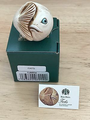 Harmony Kingdom RETIRED Roly Poly FATS the Fish #TJRPFI2 HARD BODY NIB