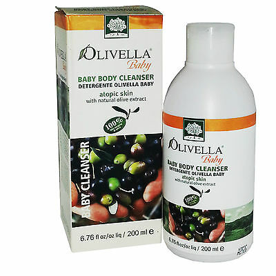 OLIVELLA BABY BODY CLEANSER 200 ml DETERGENTE PER BAMBINI