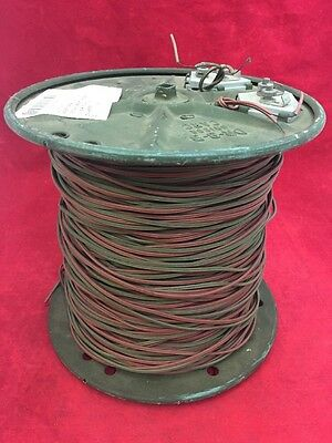NEW UNICOR Military Field Communication Telephone Wire w/Reel DR-8-B CARC