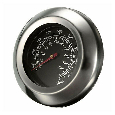 """3"""" 50~500Degrees Celsius Roast BBQ Pit Smoker Grill Thermometer Temp Gauge Z1X1"""