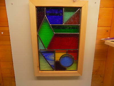 Stained glass panel/ window
