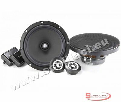 FOCAL AUDITOR RSE-165 kit casse altoparlanti 2 vie separate woofers tweeters RSE