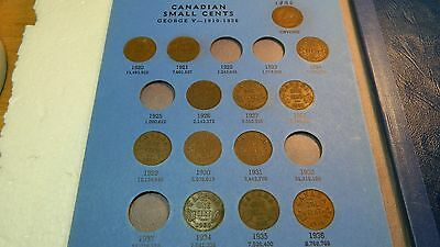 canadian cents 1920 to 2000 in 2 books no 1925