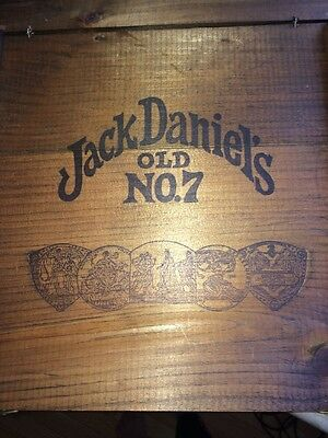 Jack Daniels Old No. 7 Tennessee Whiskey Chest Box Lid Lem Motlow
