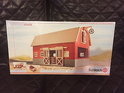 Schleich BIG RED BARN 42028 Retired - Brand New And Sealed In Box