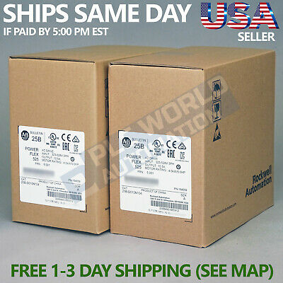 2019 New Factory Sealed Allen Bradley 25B-D010N104 /A AC Drive Latest Mfg Date
