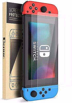 Benuo Nintendo Switch Tempered Glass Screen Protector 2 Pack LIFETIME WARRANTY!!