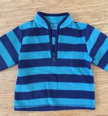 Mother's Care Baby Boy Winter Fleece Jumper_9-12mths (up to 80cm)