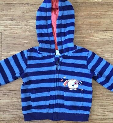 Baby Boy Winter Fleece Hoodie_Boy Outfit _Size 0 (6-12mths)
