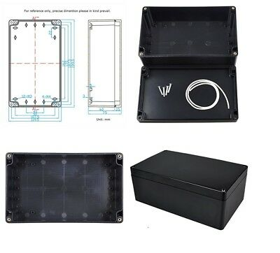 Electrical Junction Box Waterproof 200x120x75MM Plastic Enclosure Project Case