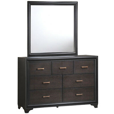 Madison Dresser and Mirror, Walnut