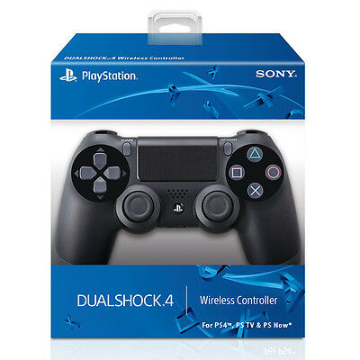 NEW Playstation 4 Wireless Controller For Sony PS4 Black PS TV, NOW -Retail Pack