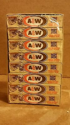 A & W Vintage Root Beer Bubble Gum