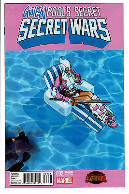 Deadpool's Secret Secret Wars #2 Bachalo Gwenpool Variant 1St Gwenpool Vf